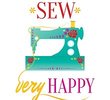 Sew Very Happy by Nalin Solis