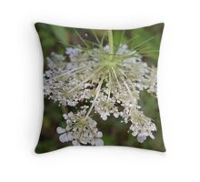 Head hung low Throw Pillow