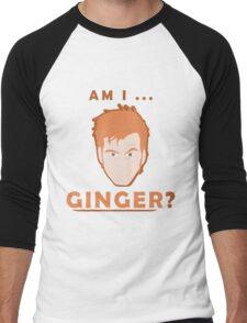 Why never Ginger? Men's Baseball ¾ T-Shirt