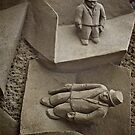 Sand Sculpture, Dublin Castle by Lisa Hafey