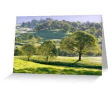 Sunrise in the Lake District  Greeting Card