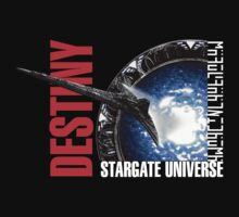 Stargate Universe - Destiny Starship by metacortex