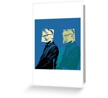 Look-a-Likes: Philip Capote Greeting Card