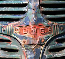 Rusty Dodge Truck Graphic Shirt by HoskingInd