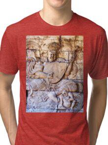 Chinese Buddhist Heavenly King Tri-blend T-Shirt