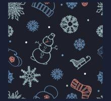 Beautiful winter seamless ornament  Kids Clothes