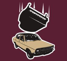 Top Gear - Piano falling on a Morris Marina by metacortex
