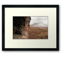 The Buddah Field Framed Print