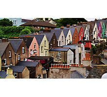 Colorful Homes Photographic Print