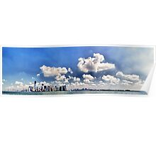 New York - Downtown Panorama Poster