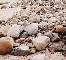 Rock on the Beach by Lewis Kesterton Photography