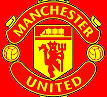 manchester united by bimbim