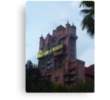 Hollywood Tower Hotel (Tower of Terror) Canvas Print