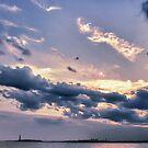 New York - Liberty Dusk by Cr4zy