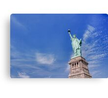 New York - Statue of Liberty Canvas Print