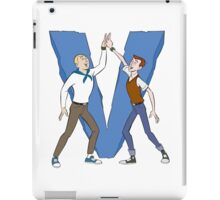 Hand and Dean Victory Hand V Sign Team The Venture Bros Anime Tv Logo iPad Case/Skin