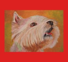 Westhighland WhiteTerrier Portrait One Piece - Long Sleeve
