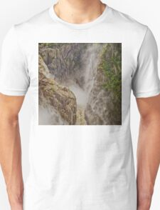 Magnificent thundering waterfall T-Shirt