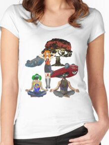 the importance of being zen Women's Fitted Scoop T-Shirt