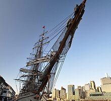 "Tall Ship ""Europa"" & Sydney Skyline, Australia 2013 by muz2142"