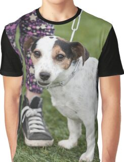 cute dog with baby Graphic T-Shirt