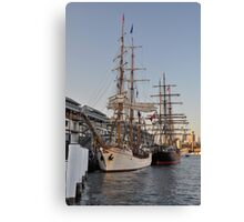 Tall Ships @ Darling Harbour, Sydney, Australia 2013. Canvas Print