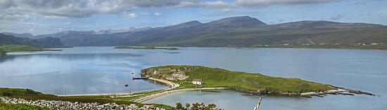Loch Eriboll ..Island and Causeway by VoluntaryRanger