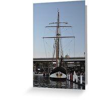 "Tall Ship ""Oosterschelde"", Sydney, Australia 2013 Greeting Card"