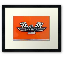 427 Automotive Graphic Shirt Framed Print
