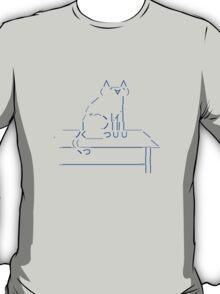 Tablecat Blue T-Shirt