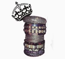 THE ART OF STACKING BANGLES (don't talk behind my back!) by eL7e