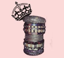 THE ART OF STACKING BANGLES (start them young!) by eL7e