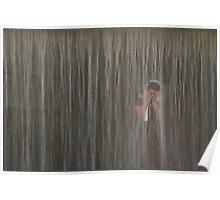 Shower, Seoul, Korea Poster