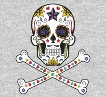 Sugar Skull & Crossbones Kids Clothes