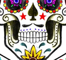 Sugar Skull & Crossbones Sticker