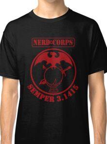 Nerd Corps Semper 3.1415 Classic T-Shirt