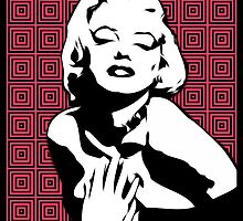 Marilyn Monroe - Mesmerize - Pop Art by wcsmack