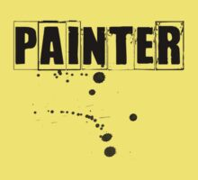 Painter Tshirt and Hoodie  Kids Tee