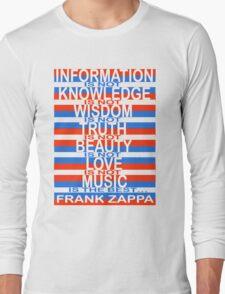 Frank Zappa Long Sleeve T-Shirt