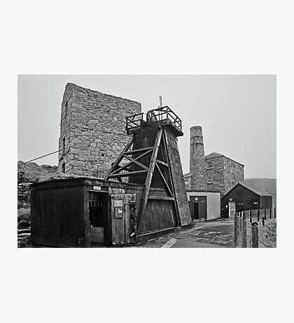 Levant Tin Mine ~ Cornwall Photographic Print