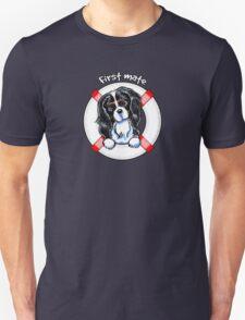 Tricolor Cavalier CKCS :: First Mate T-Shirt