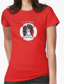 Tricolor Cavalier CKCS :: First Mate T-Shirt