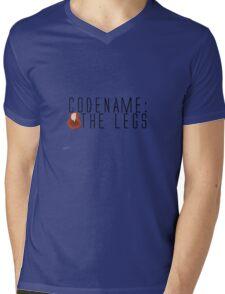 Code name: The Legs Mens V-Neck T-Shirt