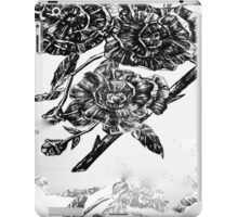 Flower Design iPad Case/Skin