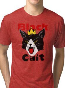 Black Cait Fireworks Tri-blend T-Shirt