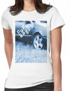 Bath retro and dub Womens Fitted T-Shirt