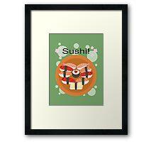 Sushi! Framed Print