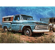 Old Chevy Pickup Photographic Print