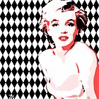Marilyn Monroe - Diamonds - Pop Art by wcsmack