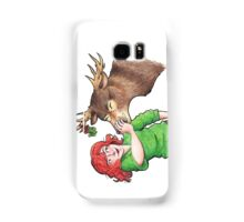 Christmas Fun with Lily and Prongs Samsung Galaxy Case/Skin